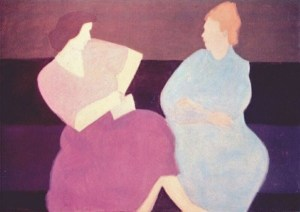 Conversation_Milton Avery_1956