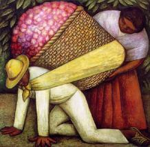 The Flower Carrier_Diego Rivera_1935